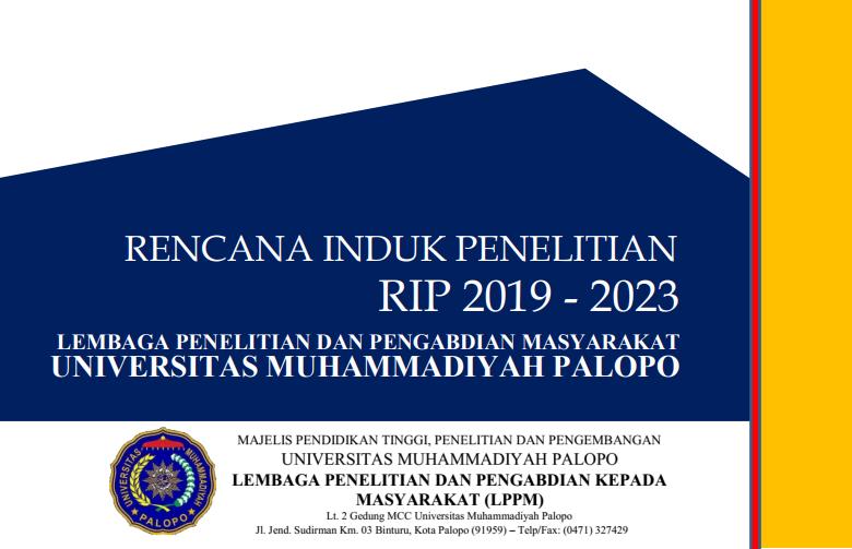 RENCANA INDUK PENELITIAN (RIP 2019-2023)