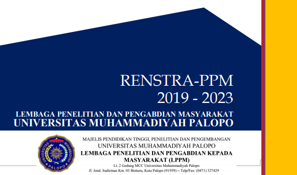 RENCANA STRATEGIS PENGABDIAN KEPADA MASYARAKAT  2019-2023